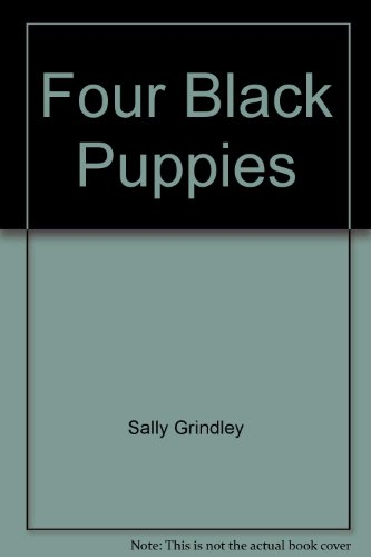 9780744510645: Four Black Puppies