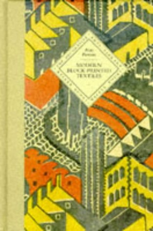 9780744518917: Modern Block Printed Textiles (The Decorative Arts Library)