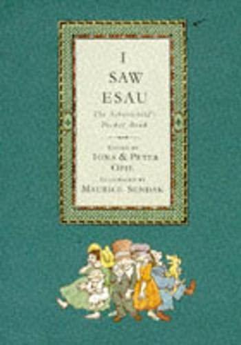 9780744521511: I saw Esau: the schoolchild's pocket book.