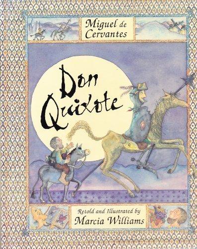 Image result for Don Quixote - Marcia Williams
