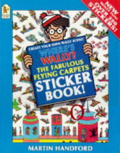 Where's Wally?: Fabulous Flying Carpets Sticker Book: Handford, Martin