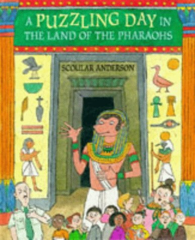 9780744537413: A Puzzling Day in the Land of the Pharaohs (Walker Gamebooks)