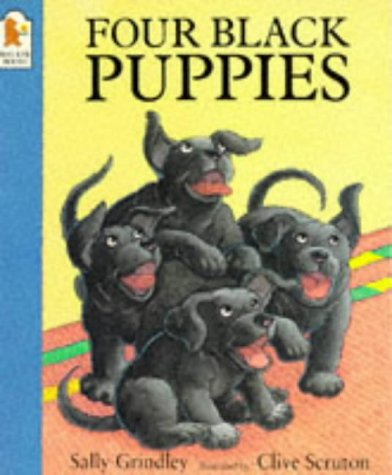 9780744552706: Four Black Puppies
