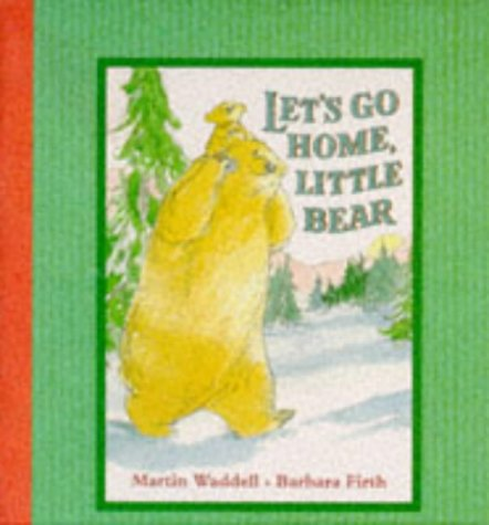 9780744554335: Let's Go Home, Little Bear (Book Card)
