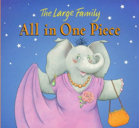 9780744560022: All In One Piece Board Book (Large Family)