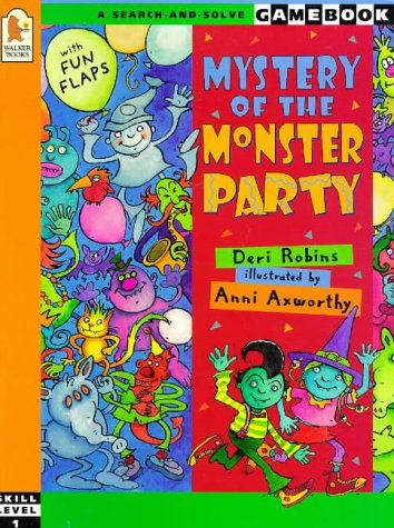 9780744560541: Mystery of the Monster Party (A search-and-solve gamebook: Skill level 1)