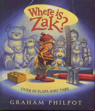 Where Is Zak? (0744561841) by Graham Philpot