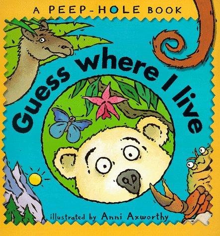 9780744562309: Guess Where I Live? (Peep-hole Books)