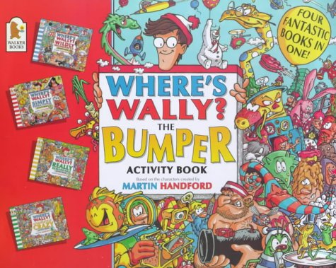 Where's Wally?: Bumper Activity Book: Handford, Martin