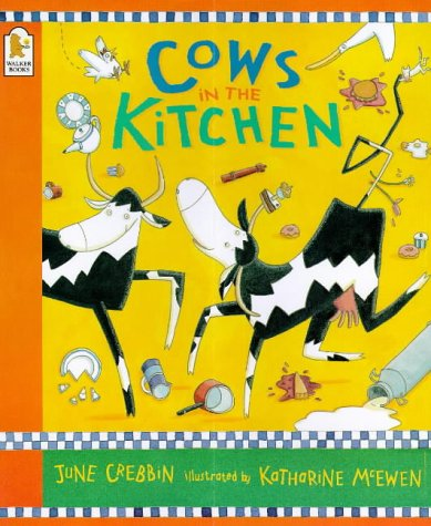 9780744569476: Cows In The Kitchen Board Book