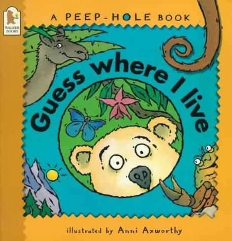 9780744577457: Guess Where I Live (Peep-hole Books)