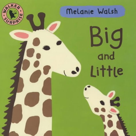9780744581034: Big And Little Board Book (Walker Surprise)