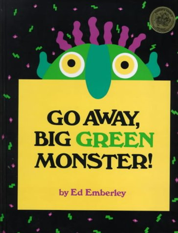 9780744581324: Go away Big Green Monster