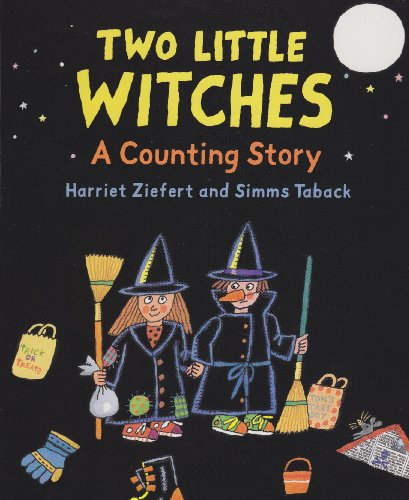 9780744585667: Two Little Witches Board Book: A Counting Story