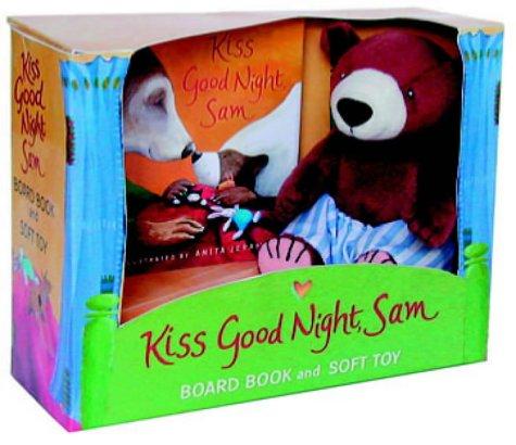 Kiss Good Night, Sam Midi Board Book (0744586720) by Amy Hest