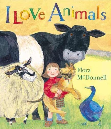 9780744588033: I Love Animals Book Chart