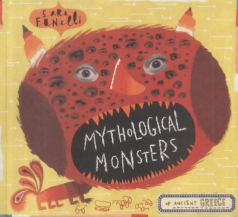 9780744588989: Mythological Monsters of Ancient Greece