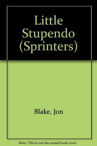 9780744590234: Little Stupendo (Sprinters)