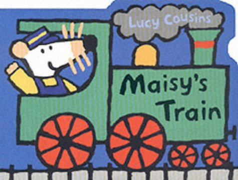 9780744592252: Maisy's Train Shaped Board Book
