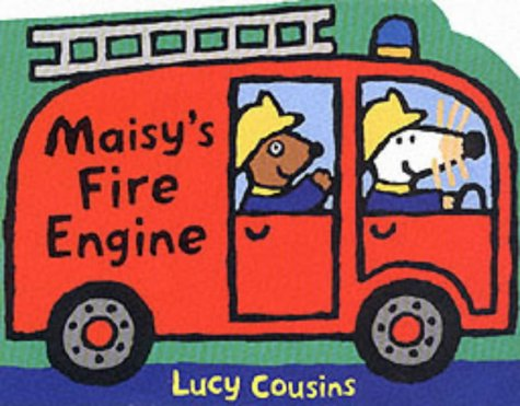9780744592269: Maisy's Fire Engine Shaped Board Book