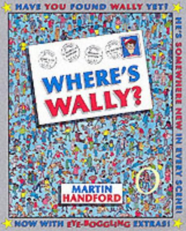 9780744594423: Where's Wally? Mini & Magnifying Glass (Where Wally Special Mini)