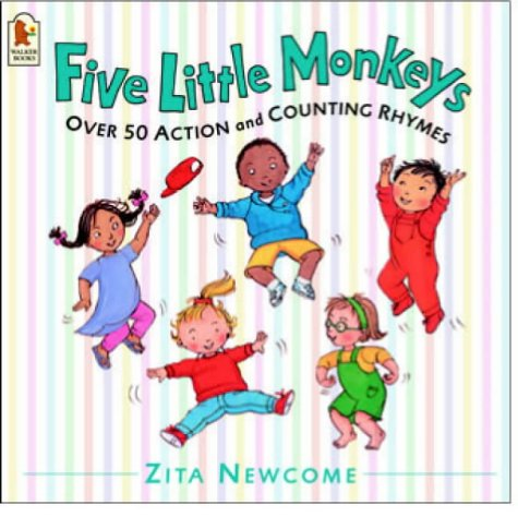Five Little Monkeys (0744598257) by Zita Newcome