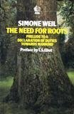 9780744800586: The Need for Roots: Prelude to a Declaration of Duties Towards Mankind (Ark Paperbacks)
