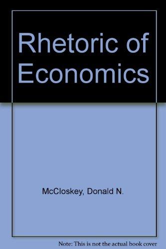9780745001531: Rhetoric of Economics