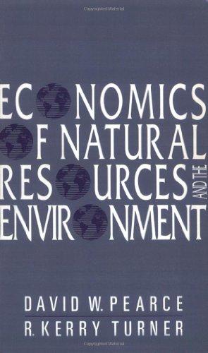 9780745002255: Economics Natural Resources Environment