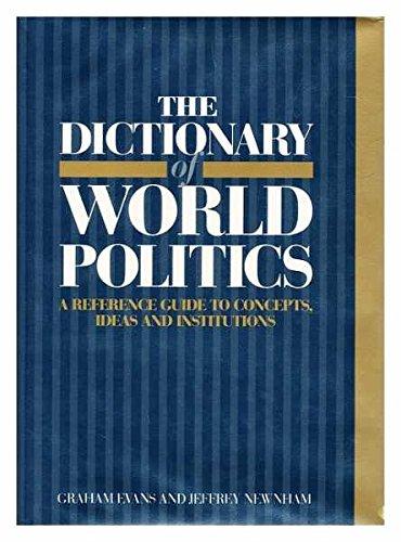 9780745002743: The Dictionary of World Politics