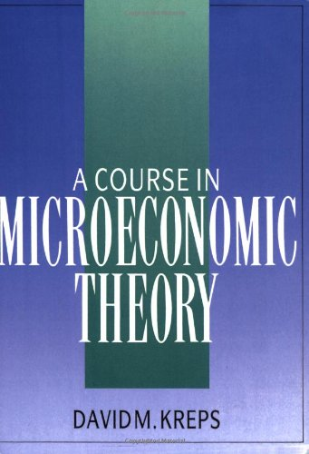 9780745007625: A course on microeconomy theory