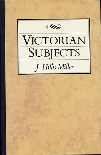9780745008202: Victorian Subjects