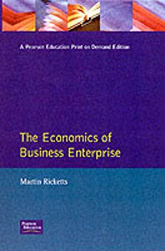 9780745008394: The Economics of Business Enterprise