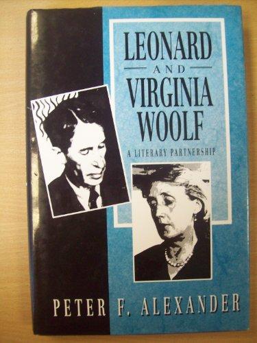 9780745009230: Leonard and Virginia Woolf: A Literary Partnership