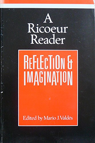 9780745009940: A Ricoeur Reader: Reflection and Imagination (Theory/culture series)