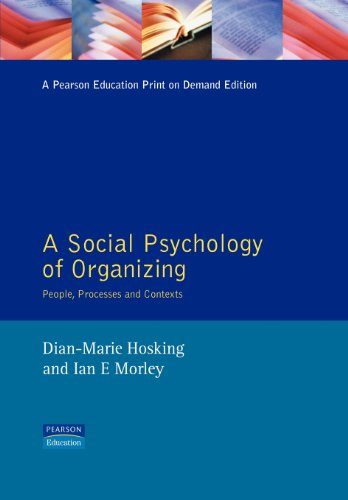 9780745010540: Social Psychology Organization
