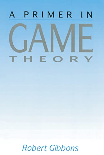 9780745011592: Primer In Game Theory