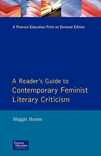 9780745011943: A Readers Guide to Contemporary Feminist Literary Criticism