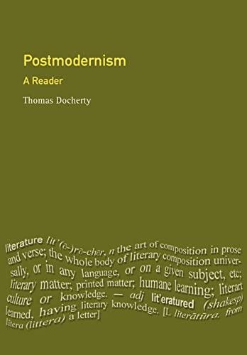 9780745012438: Postmodernism: A Reader