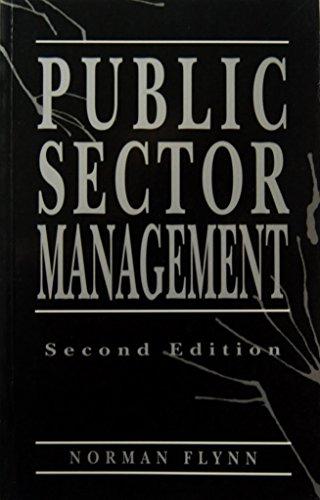 9780745012636: Public Sector Management