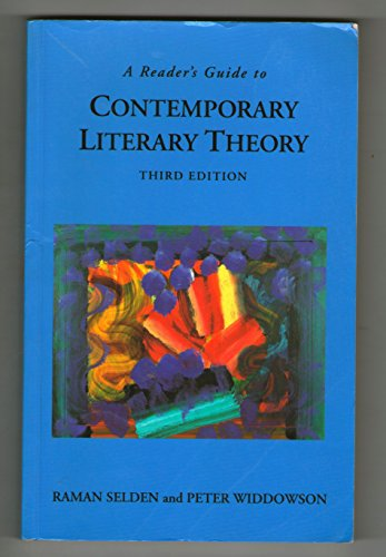 9780745013633: A Reader's Guide to Contemporary Literary Theory