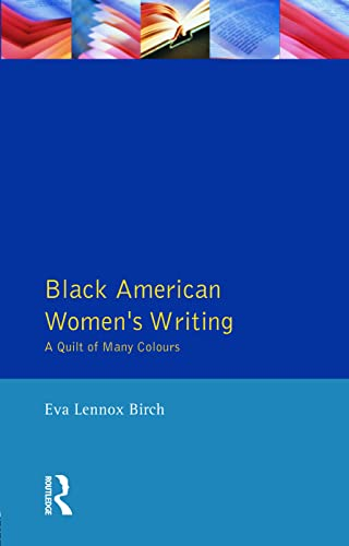 9780745016122: Black American Women's Writing: A Quilt of Many Colours