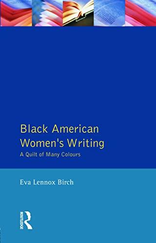 9780745016122: Black American Women's Writings