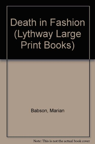 9780745105192: Death in Fashion (Lythway Large Print Books)