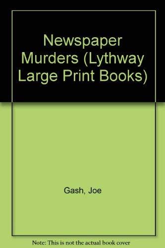 9780745105222: Newspaper Murders