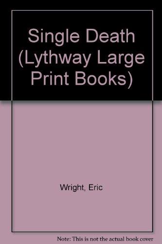 9780745105635: Single Death (Lythway Large Print Books)