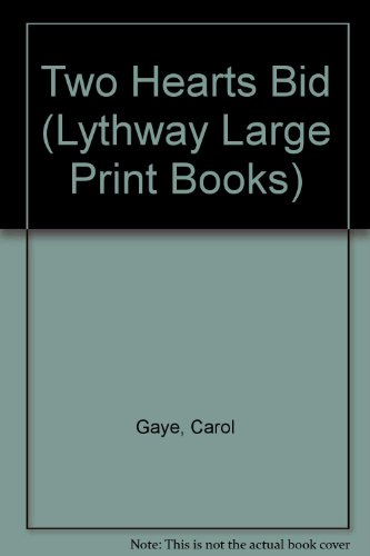 9780745106342: Two Hearts Bid (Lythway Large Print Books)