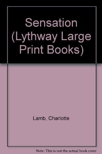9780745111827: Sensation (Lythway Large Print Books)