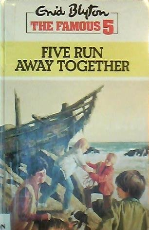 9780745112480: Enid Blyton's Five Run Away Together (Lythway Large Print Series)