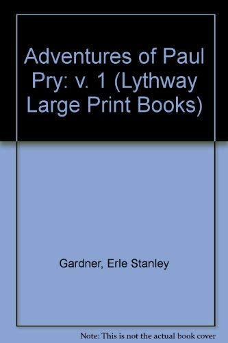 9780745113319: Adventures of Paul Pry: v. 1 (Lythway Large Print Books)